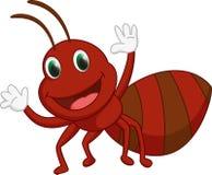 Cute ant cartoon Stock Photo