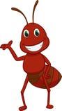 Cute ant cartoon Stock Images