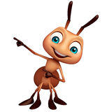Cute Ant funny cartoon character. 3d rendered illustration of Ant funny cartoon character Stock Image
