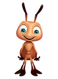Cute Ant funny cartoon character. 3d rendered illustration of Ant funny cartoon character Stock Photo