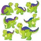 Cute Apatosaurus Royalty Free Stock Photos