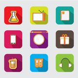 Cute app icon Royalty Free Stock Images