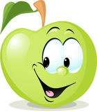 Cute apple character - vector illustration  Stock Photo