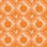 Cute apple pattern Royalty Free Stock Image