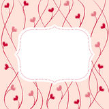 Cute art  frame Royalty Free Stock Images