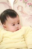 Cute asia baby Royalty Free Stock Image