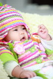 Cute asia baby Stock Image