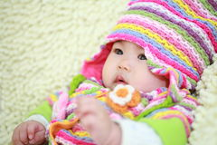 Cute asia baby Royalty Free Stock Photos