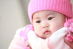 Cute asia baby Stock Photos