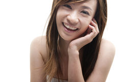Cute Asian Stock Image