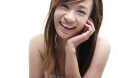 Cute Asian Stock Image