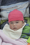 Cute asian baby Royalty Free Stock Image