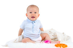 Cute asian baby Royalty Free Stock Photo