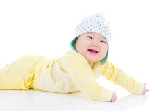 Cute asian baby Stock Images