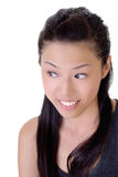 Cute Asian beauty Stock Image