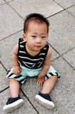 Cute Asian boy Royalty Free Stock Photos