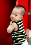Cute Asian boy royalty free stock image