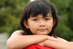 Cute Asian Child Stock Photo