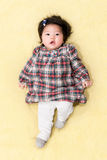 Cute Asian Chinese baby girl Stock Photos