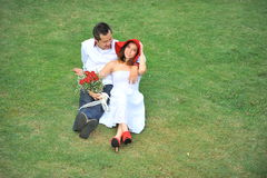 Cute Asian couple Stock Images