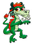 Cute asian dragon Stock Photography
