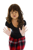 Cute asian girl Royalty Free Stock Photos