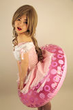 Cute Asian girl Stock Photography