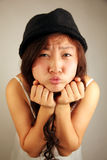 Cute Asian girl Stock Photos