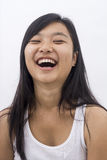Asian girls laughing