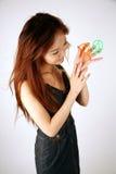Cute Asian girl Stock Images
