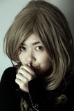 Cute Asian girl Stock Image