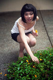 Cute Asian girl Stock Image