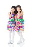 Cute asian girls Royalty Free Stock Photo