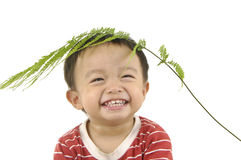 Cute Asian kids Stock Photos