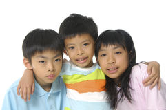Cute Asian kids Stock Image