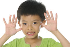 Cute Asian kids Stock Images