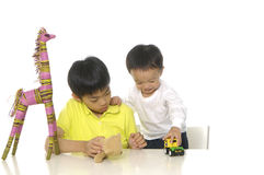 Cute Asian kids Royalty Free Stock Photo