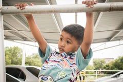 Cute asian little boy. Close up of cute asian little boy Stock Photography