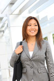 Cute Asian Professional Woman Stock Photo