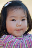 Cute Asian toddler Stock Photo