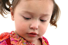 Cute Asian toddler Stock Images
