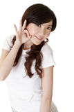 Cute Asian woman Stock Photo