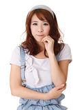 Cute Asian woman Royalty Free Stock Images