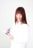 Cute asian woman Stock Photo