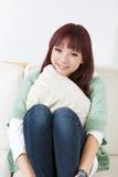 Cute Asian woman Royalty Free Stock Image