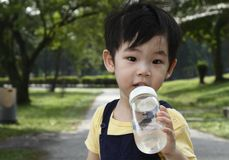 Cute Asian Young Boy Stock Photos