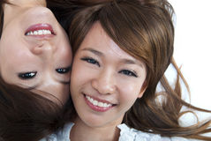 Cute Asians Royalty Free Stock Photography