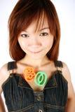 Cute Asuan girl Stock Photos