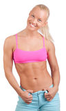 Cute athletic woman Royalty Free Stock Photos