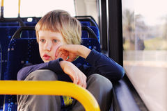Cute autistic boy Royalty Free Stock Photography